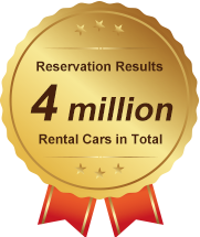 Car rental reservation results 4 million rental cars in total