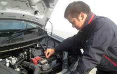 Regular inspection and maintenance at the certified NISSAN Service Center.