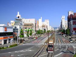 picture around Toyohashi Station