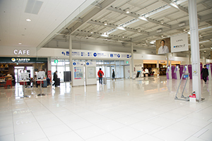1. There are not any reception desks in Terminal. So after arriving at Terminal 1, you have to go to Aeroplaza.