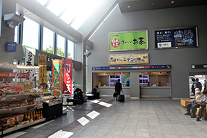 3. 【For Domestic Flights】 After going straight, you can find the rental car counter.