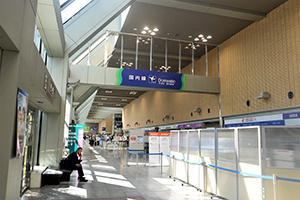 5. 【For International Flights】 Go to the Domestic Arrival Gate.