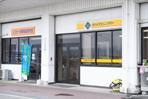 9. Only ORIX Rent a Car office stands next to the shuttle bus stop at the airport, so you can rent and return your rental car directly.