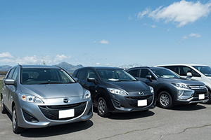 There is a wide range of popular car models by Japanese car manufacturers.