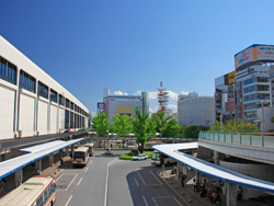 picture around Koriyama Station